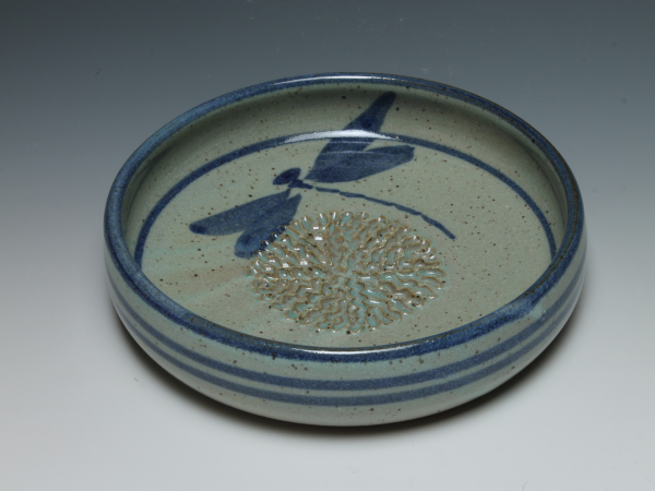 "Dipping dish is approximately 1""x 6"""