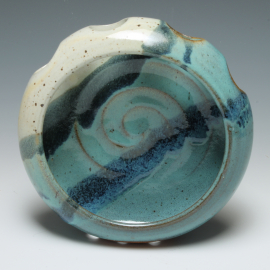 Toothbrush Holder front view in 'Beach'