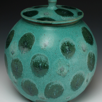 spotted cookie jar